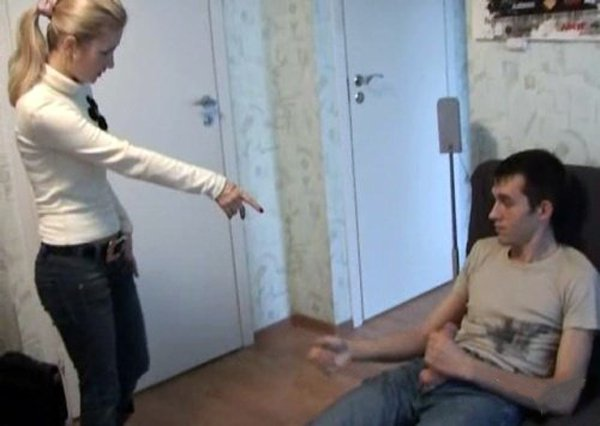 Rapesection: Alenka - Hot Blonde Raped On Couch