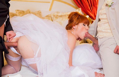 Private: Lucy Bell - Naughty Redheaded Bride Lucy Bell 1080p