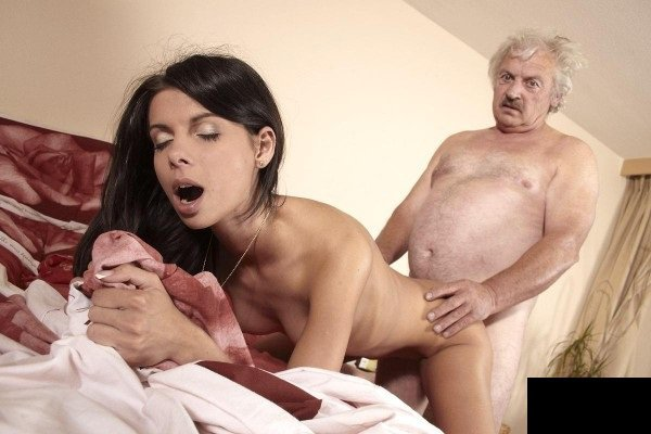 BeautyAndTheSenior: Maggie - Teen Try Fuck With Old Man 1080p