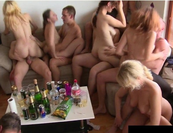 CzechHomeOrgy: Amateur Swing - Czech Home Orgy 9 Part 8 720p