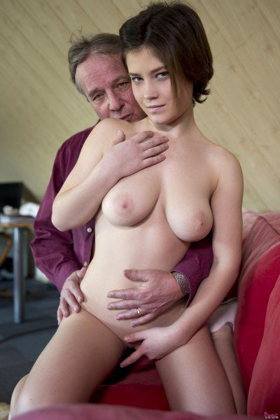 BeautyAndTheSenior: Veronica Morre - Hot Teen Have Love With Old Man