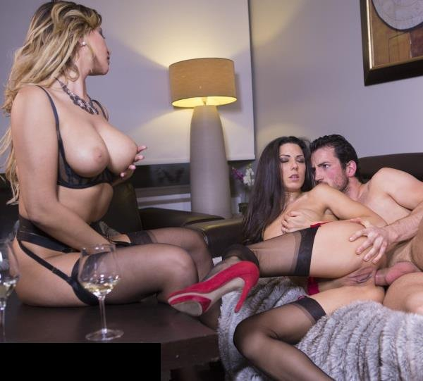 Drcel: Anna Polina, Alexa Tomas, Claire Castel - Wife Watching How Husband Fucks His Mistress In Ass 1080p