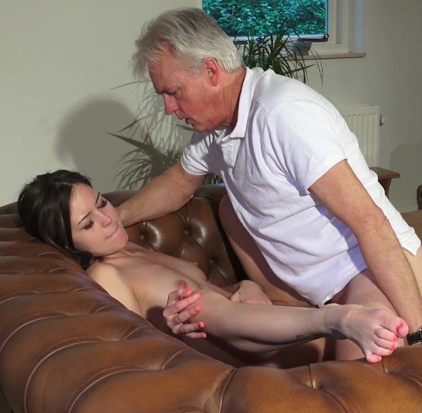 BeautyAndTheSenior: Cindy Shine - Old Man Fuck Young Neighbor Teen 1080p