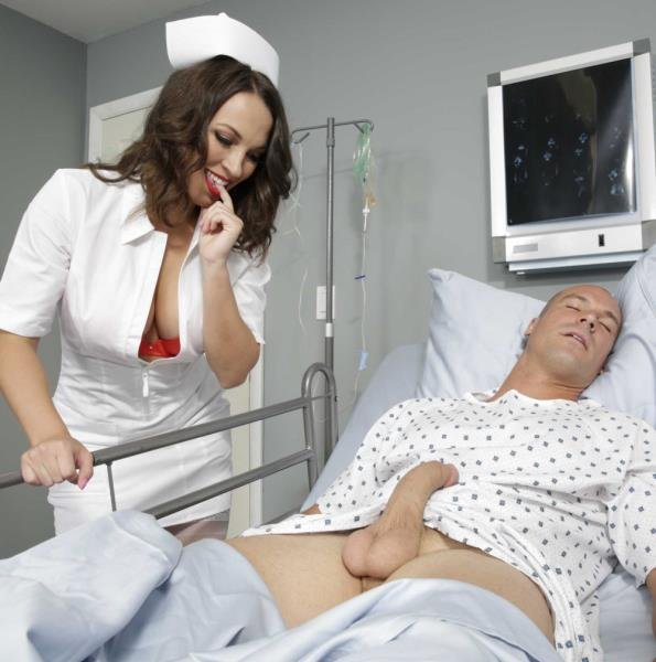 Bang Bros: Lily Love - Nurse Touching Dick Of A Sleeping Patient 480p