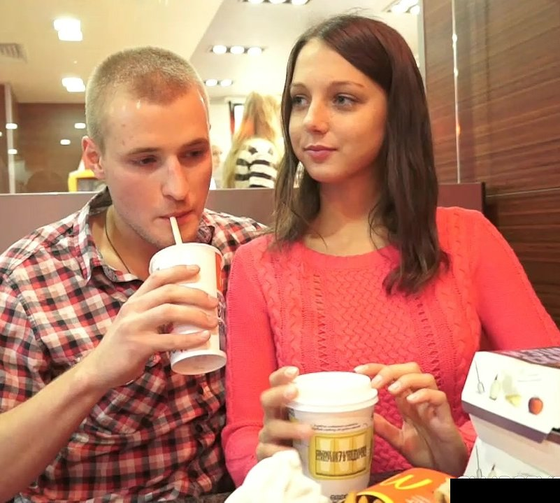 MeetSuckAndFuck: Foxy Di - Sex Atfter First Date In McDonalds 720p