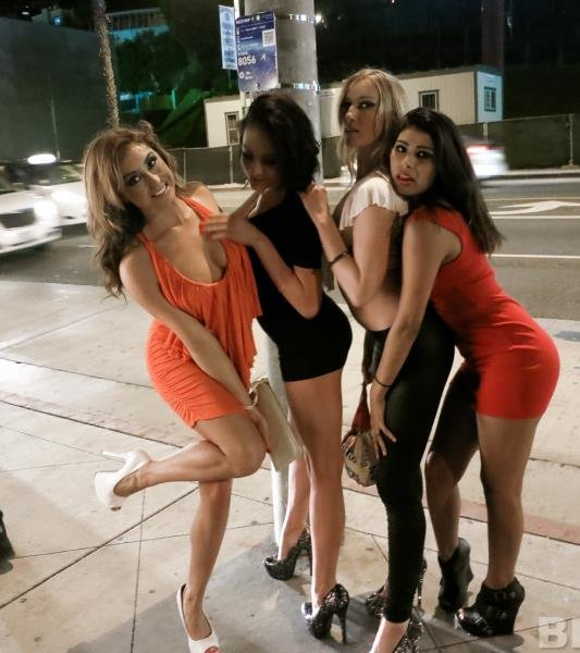 CrazyCollege: Amateur - Girls Night Out 540p
