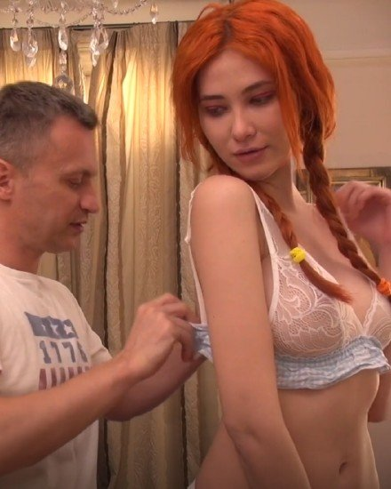 JacquieEtMichelTV: Kirsten - Sex With Redhead France Girl 1080p